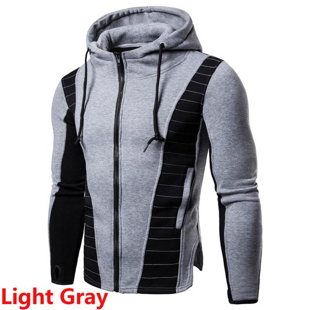 Men\'s Jacket Fashion Cotton Blended Outerwear & Coats Sweater Warm Hooded Jacketsmasculinaeticdress-eticdress