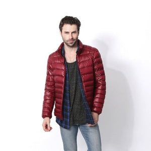 2018 New Winter White Duck Down Men Down Jacket Men Casualeticdress-eticdress