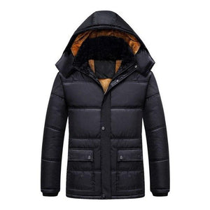 Casual Winter Men Thicken Casual Cotton Jacket Outdoor Waterproof Windbreaker Breathableeticdress-eticdress