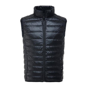 New Spring Autumn Casual Vest Men Brand Sleeveless Jacket Ultralight White Ducketicdress-eticdress