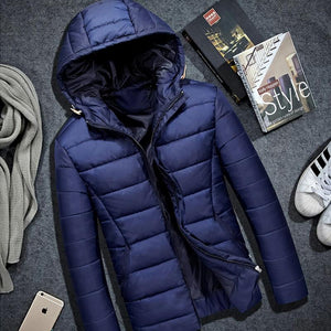 Winter Jacket Men Hat Warm Coat Cotton-Padded Outwear Mens Coats Jacketseticdress-eticdress