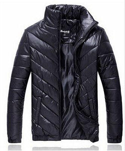 2018 New Brand Autumn Men's Winter Warm Coat Padded Jacket Casual Downeticdress-eticdress