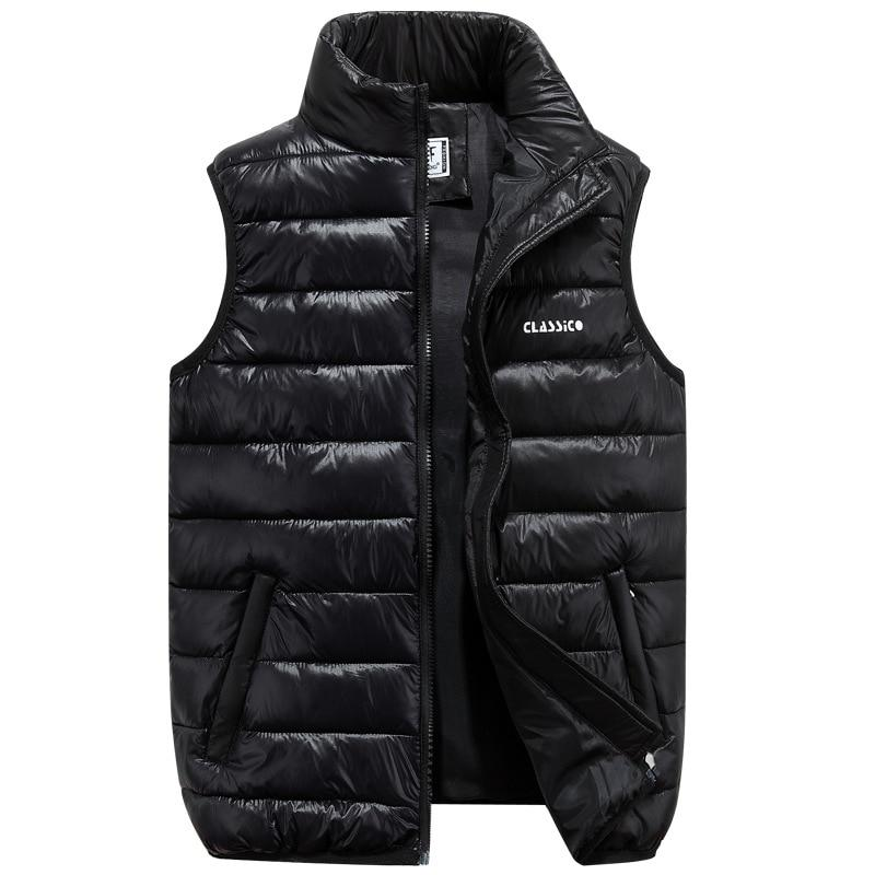 Plus Size 6XL Men Vests Men's Sleeveless Outwear Jackets Winter Fashion Maleeticdress-eticdress