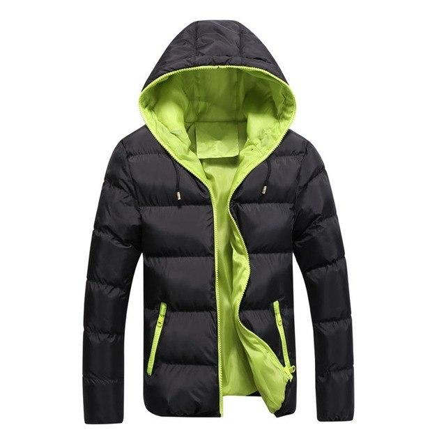 new Brand winter Jacket for men hooded coats casual mens thick coateticdress-eticdress