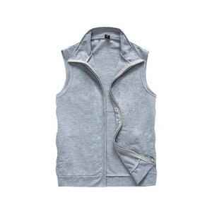 Mens Summer Vest Sleeveless Jackets New Male Casual Thin Breathable Waistcoat Fashioneticdress-eticdress