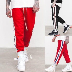 2019 New Hip pop Mens Slim Fit Sportwear Skinny Jogging Joggerseticdress-eticdress