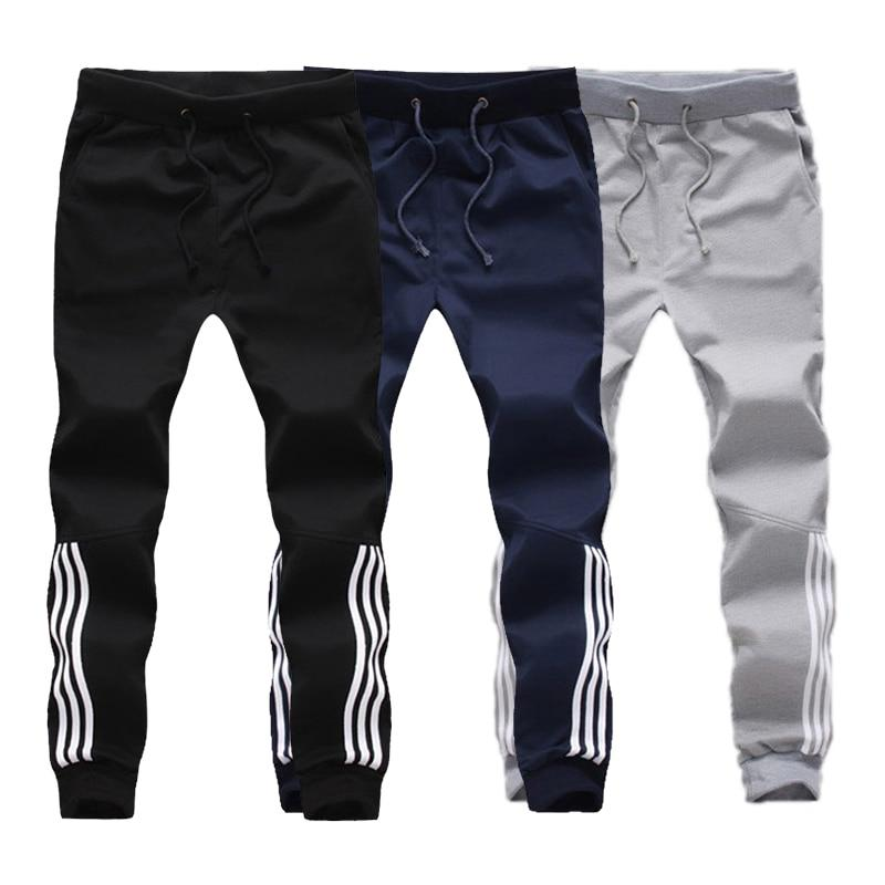 New Jogger Comfortable Workout Pants Mens Solid Casual Letter Printing Male Fitnesseticdress-eticdress
