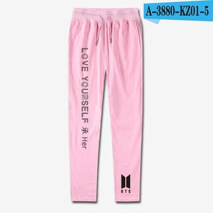 2018 quality Good Fashion Pants bts 100% Cotton Harem Pants Loveeticdress-eticdress