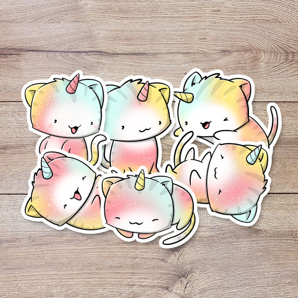 Rainbow Cats | Stickers