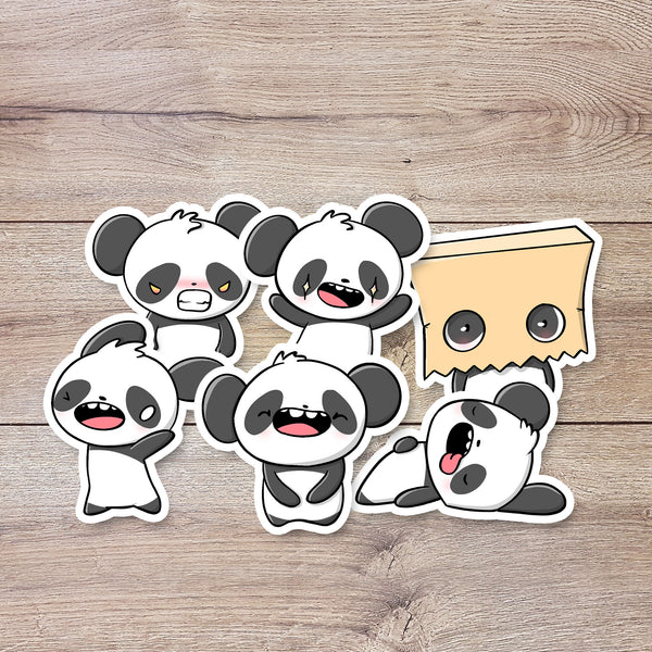 Panda Emotes | Stickers