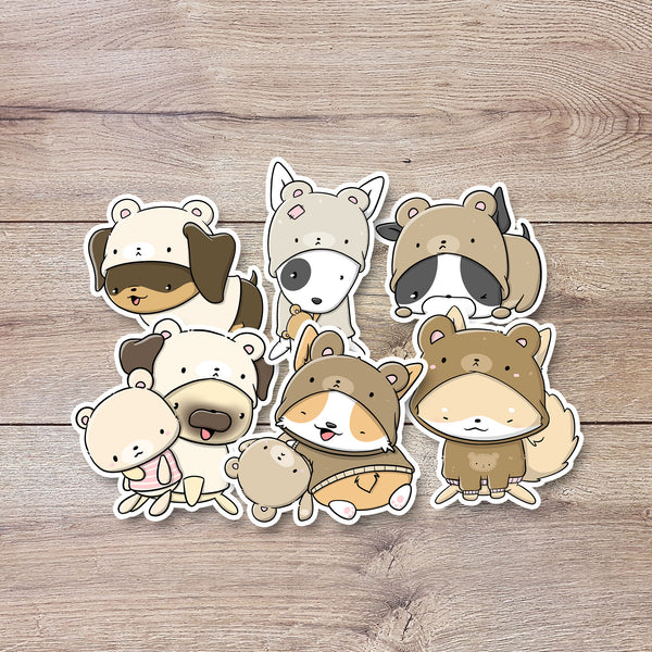 Teddy Dogs | Stickers