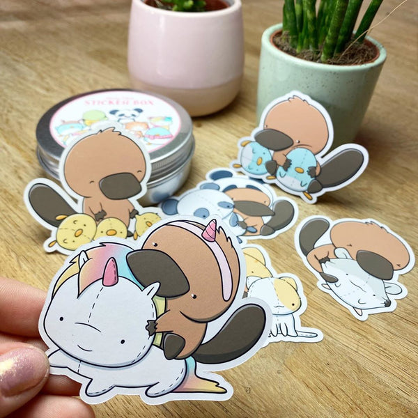 Platypus Plush | Stickers
