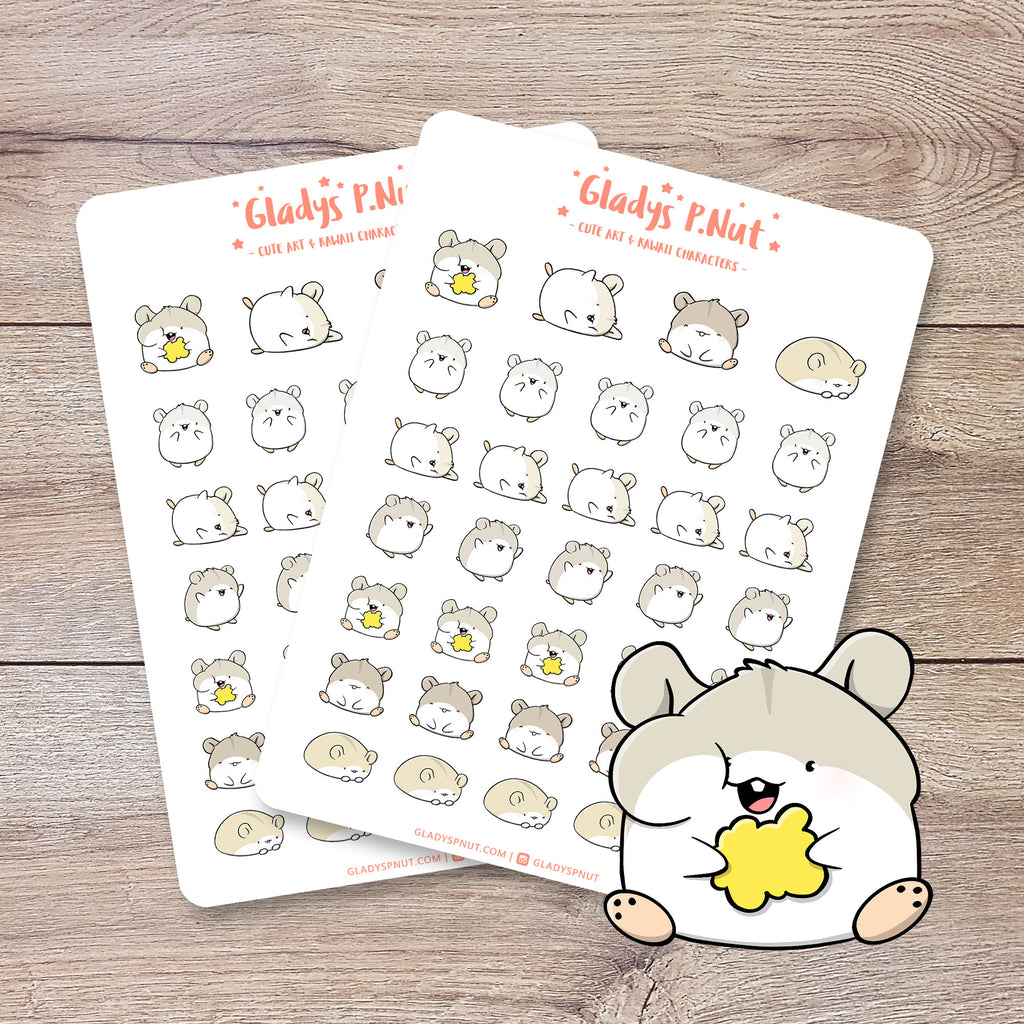Hamsters | Sticker Sheets
