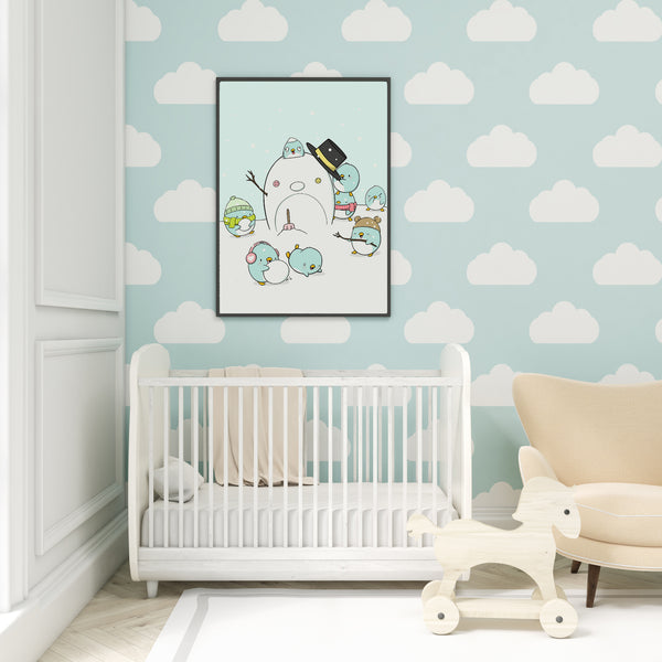 Penguin Wonderland | Print