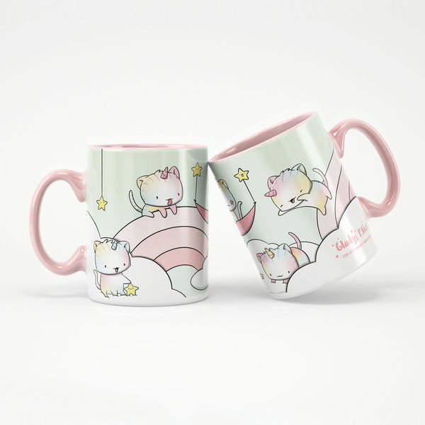 Unikitties in the clouds | Mug