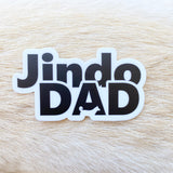 Jindo Dad Sticker