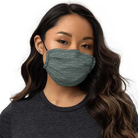 Jindo Mom Script Face Mask