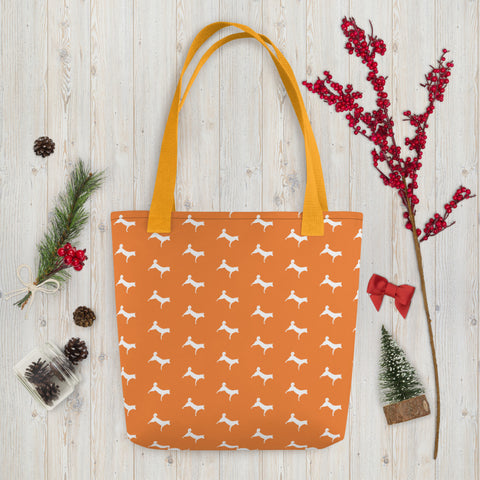 Simply Jindo Tote Bag - Orange