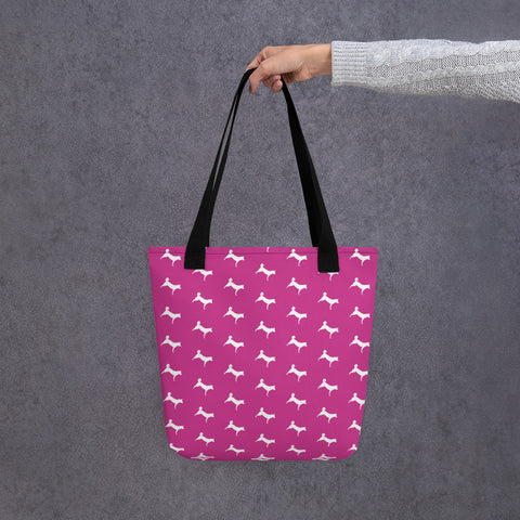 Simply Jindo Tote Bag - Pink