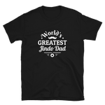 World's Greatest Jindo Dad Short-Sleeve T-Shirt