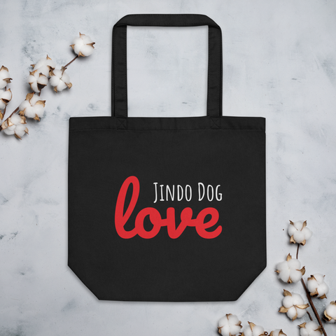 Jindo Dog Love Eco Tote Bag
