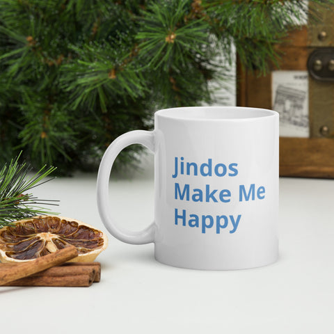 Jindos Make Me Happy Mug
