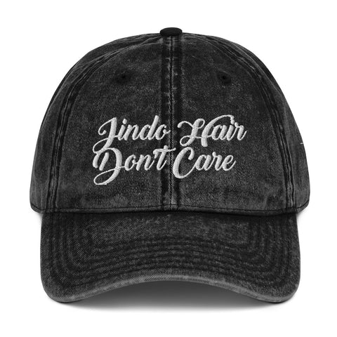 Jindo Hair Don't Care Vintage Cotton Twill Cap