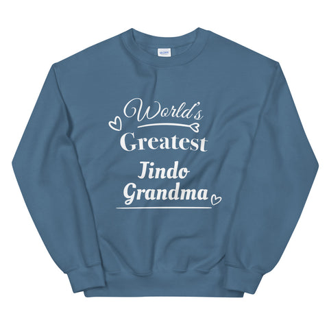 World's Greatest Jindo Grandma Sweatshirt