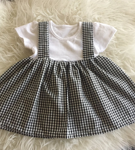 the perfect peplum top in tiny checks