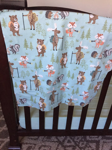 new adventures baby blanket