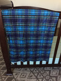 plaid about you baby blanket