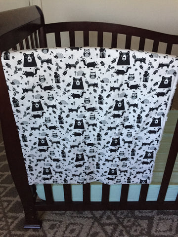 into the wild baby blanket