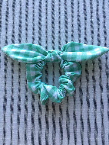 autumn air knotted scrunchie