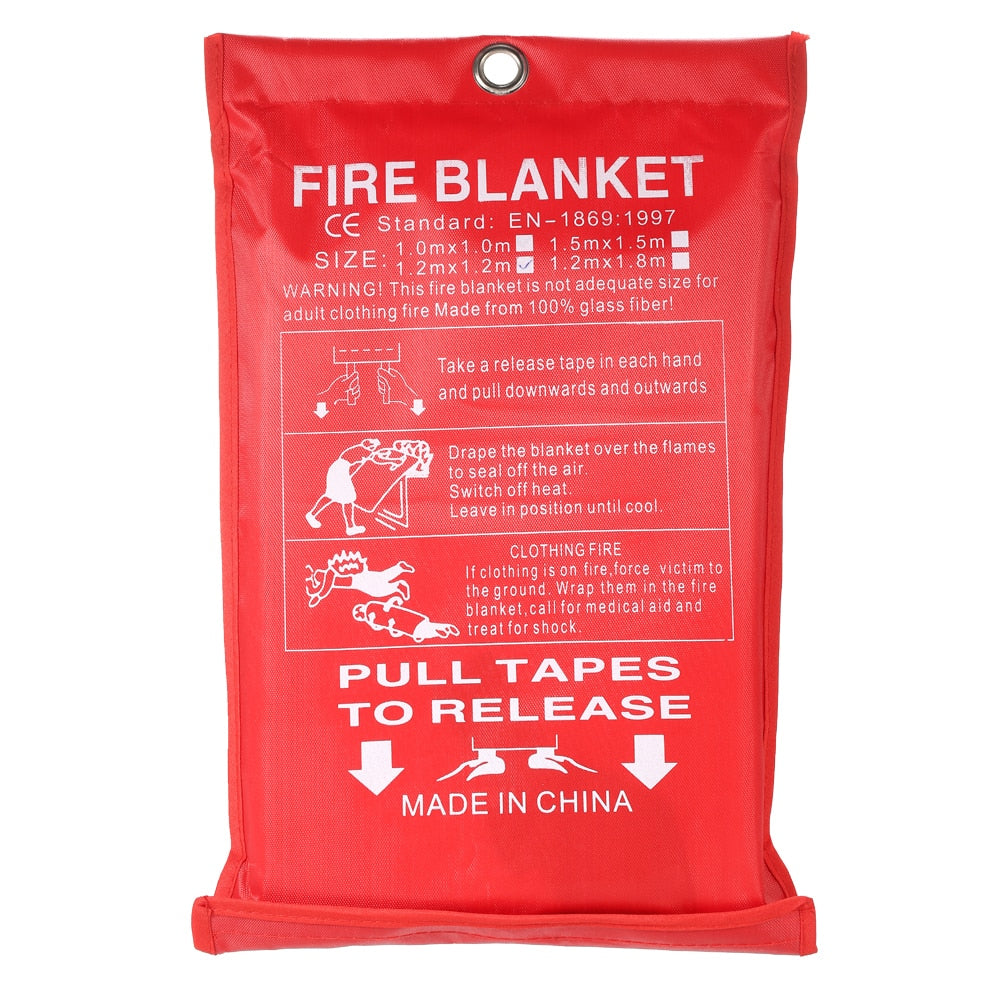 Fire blanket- Flame Retardant Emergency Survival Blanket ( Global free shipping )