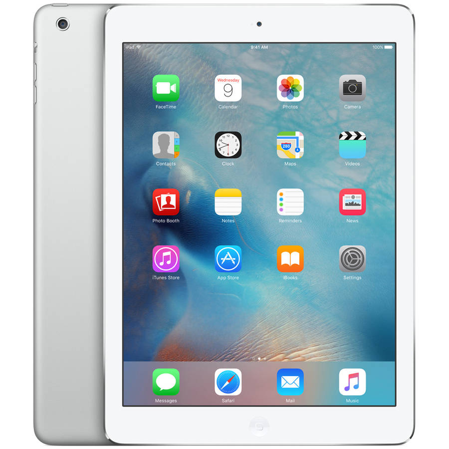 APPLE IPAD AIR WIFI 16GB SILVER WHITE REFURBISHED