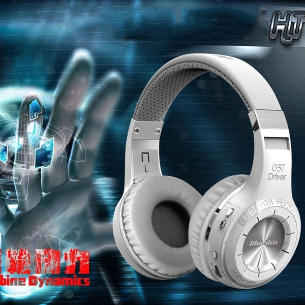 Bludio HT Bluetooth Headphone Stereo Headset HIFI Heavy Bass Sports Bluetooth Music Headphones