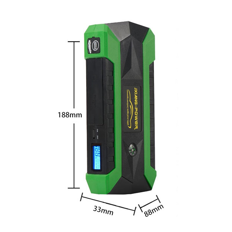 Portable Car jumper multi functional Power Bank