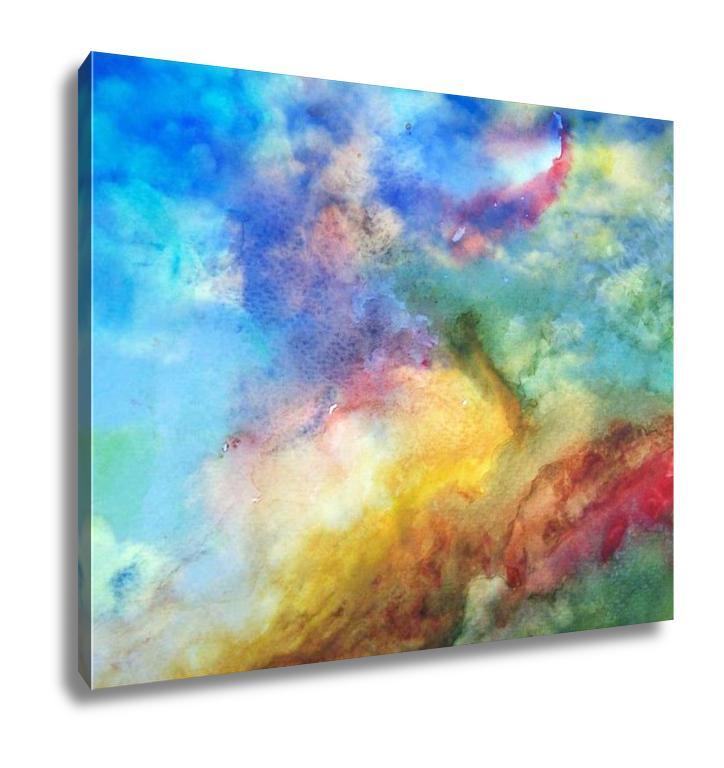 Abstract Nebula - Canvas Wall Art