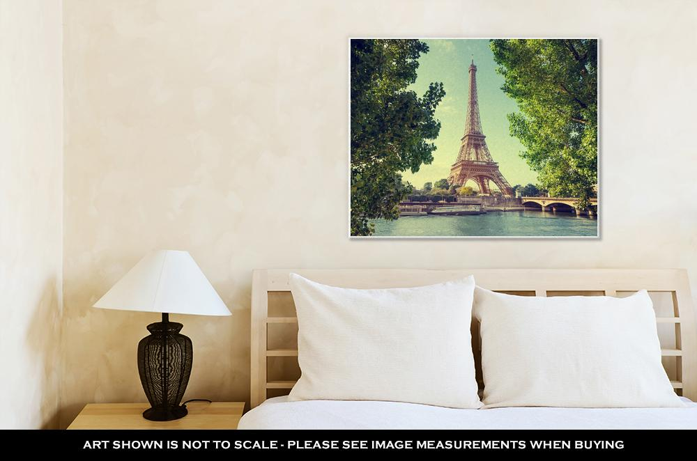 View of The Eiffel Tower - Canvas Wall Art