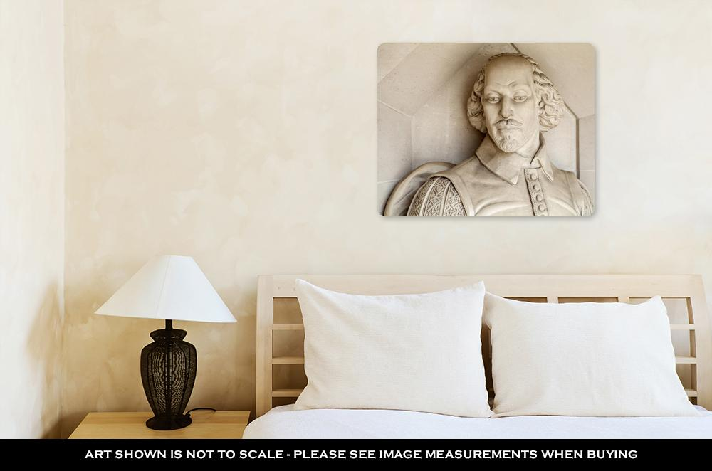 Shakespeare's Gaze - Metal Panel Wall Art