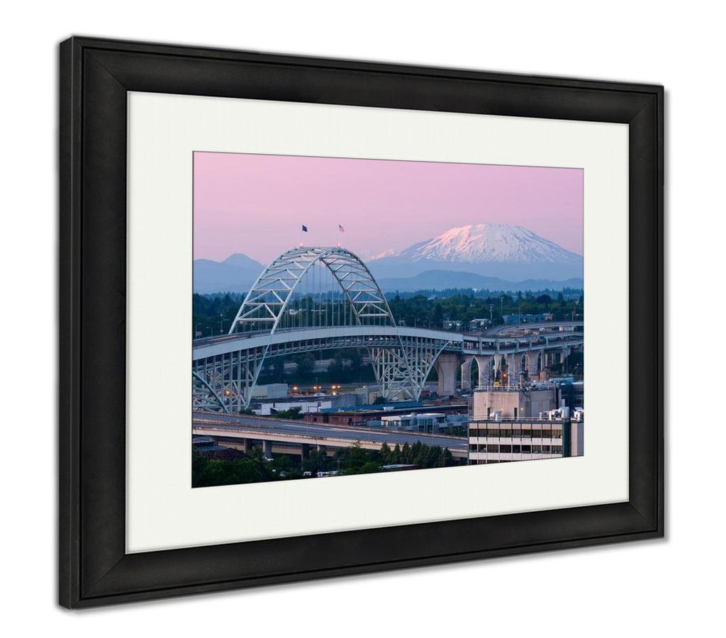 View of Alpenglow - Framed Wall Art