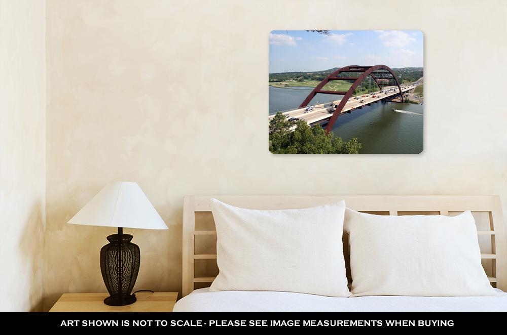 The 360 Bridge - Metal Panel Wall Art