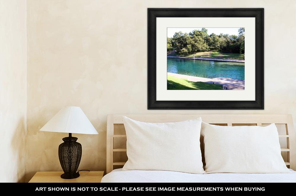Barton Springs, TX - Framed Wall Art