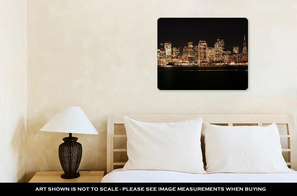 San Francisco Skyline - Metal Panel Wall Art