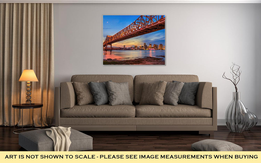 The Crescent City Connection - Canvas Wall Art