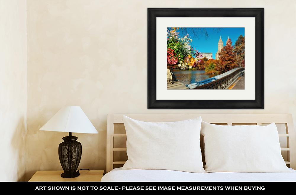 Autumn Buildings of Manhattan - Framed Wall Art