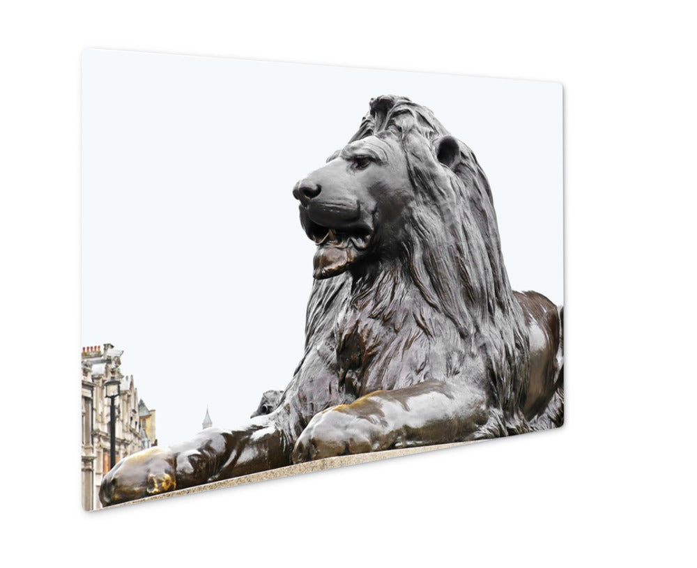King of Trafalgar Square - Metal Panel Wall Art
