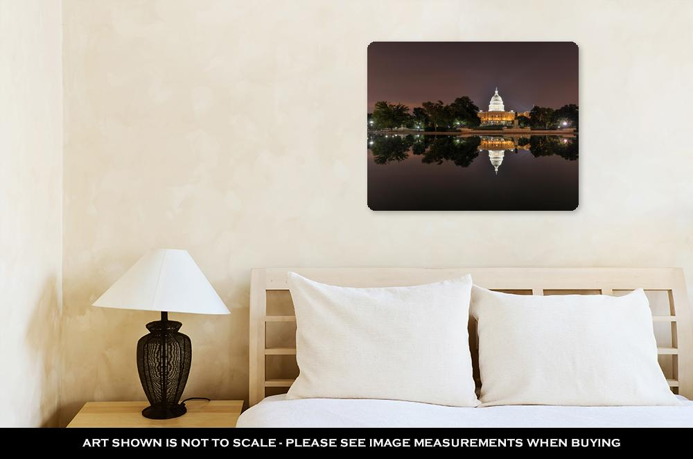 The US Capitol Building - Metal Panel Wall Art