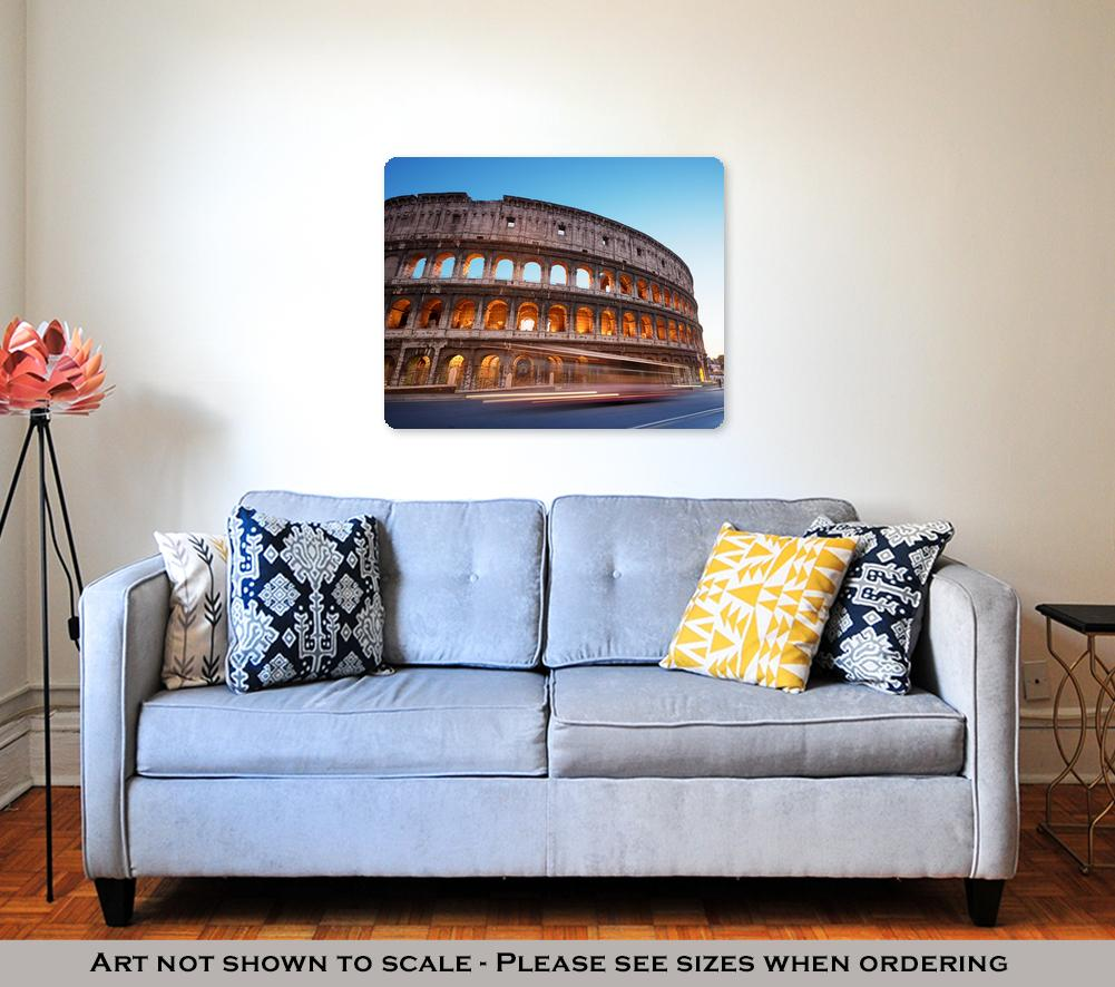 The Great Colosseum - Metal Panel Wall Art