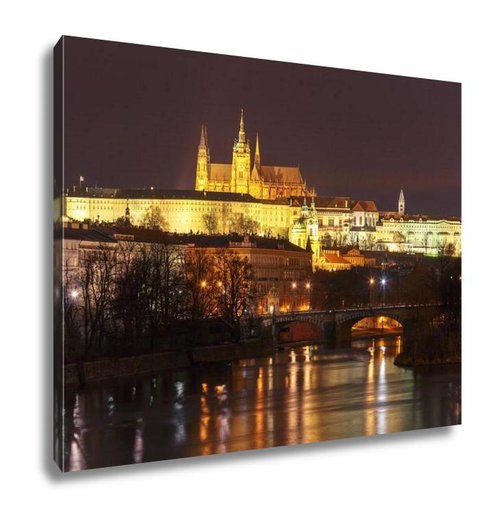 Prague Castle, Charles Bridge - Canvas Wall Art